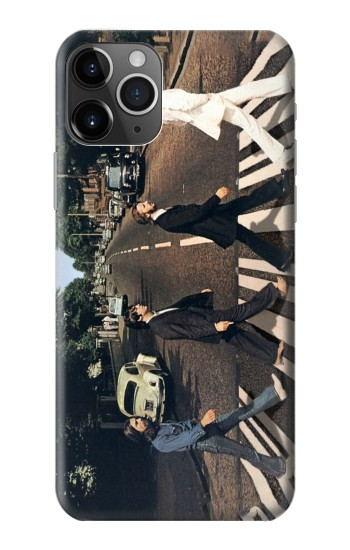 Printed The Beatles Abbey Road iPhone 11 Pro Case