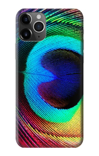 Printed Peacock iPhone 11 Pro Case
