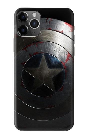 Printed Captain Shield iPhone 11 Pro Case