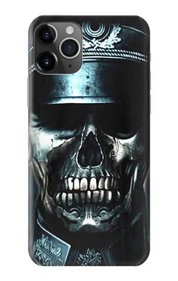 Printed Skull Soldier Zombie iPhone 11 Pro Case