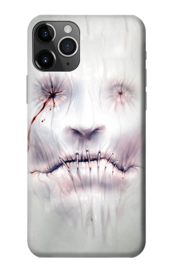 Printed Horror Face iPhone 11 Pro Case