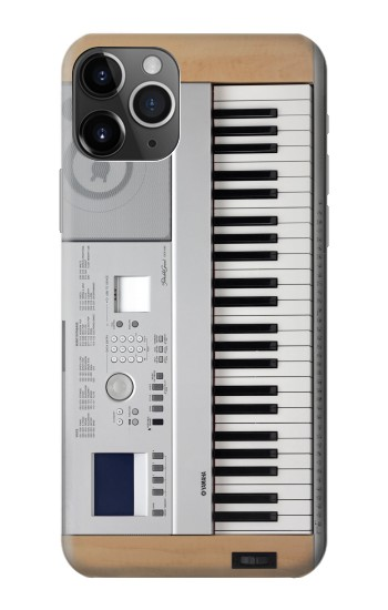 Printed Keyboard Digital Piano iPhone 11 Pro Case