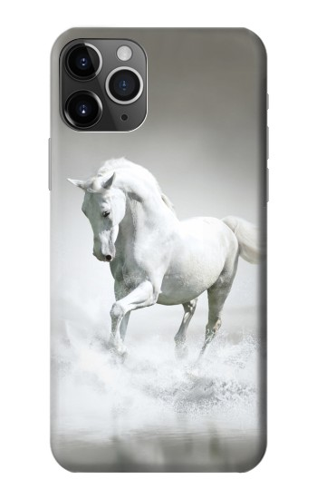 Printed White Horse iPhone 11 Pro Case