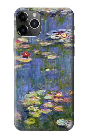 Printed Claude Monet Water Lilies iPhone 11 Pro Case