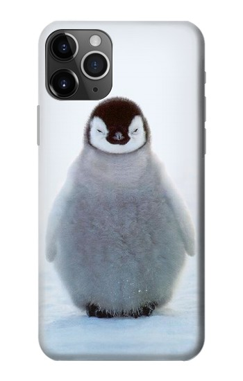 Printed Penguin Ice iPhone 11 Pro Case