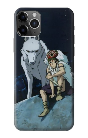 Printed Princess Mononoke San iPhone 11 Pro Case