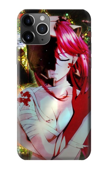 Printed Elfen Lied Lucy iPhone 11 Pro Case