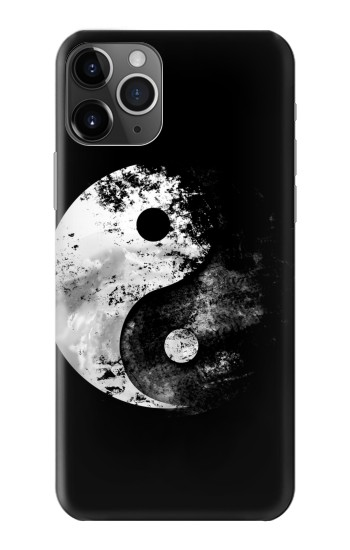 Printed Moon Yin-Yang iPhone 11 Pro Case
