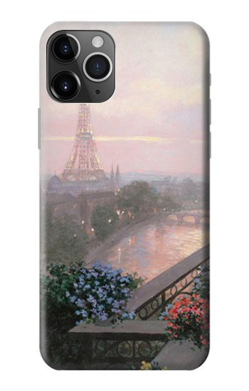 Printed Terrace in Paris Eifel iPhone 11 Pro Case