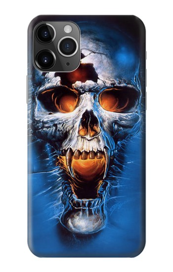 Printed Vampire Skull iPhone 11 Pro Case
