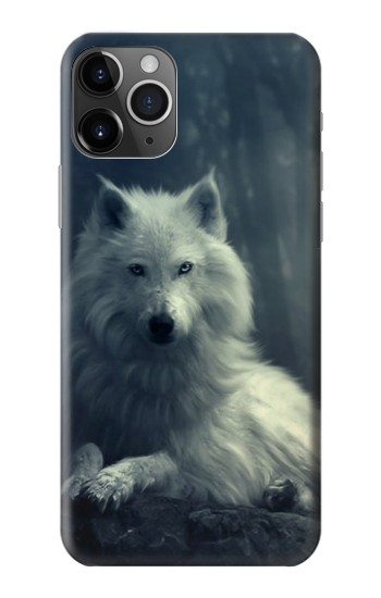 Printed White Wolf iPhone 11 Pro Case