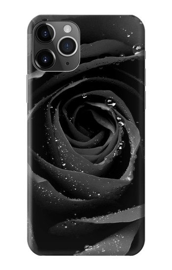 Printed Black Rose iPhone 11 Pro Case