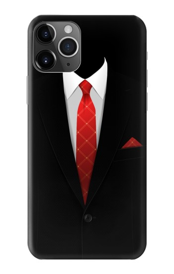 Printed Black Suit iPhone 11 Pro Case