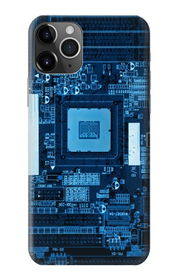 Printed CPU Motherboard iPhone 11 Pro Case