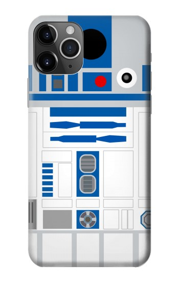 Printed R2D2 Minimalist iPhone 11 Pro Case