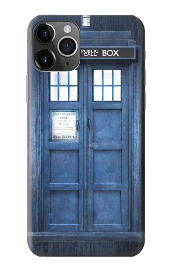 Printed Doctor Who Tardis iPhone 11 Pro Case
