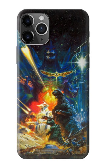 Printed Godzilla VS Space Godzilla iPhone 11 Pro Case