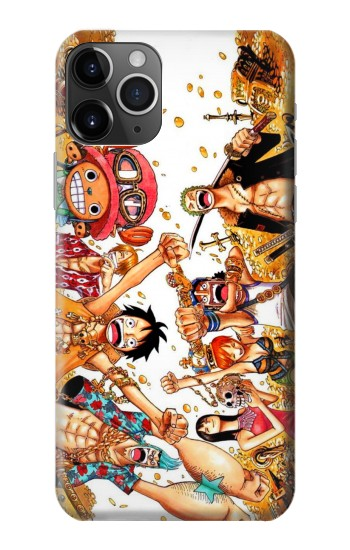 Printed One Piece Straw Hat Luffy Pirate Crew iPhone 11 Pro Case