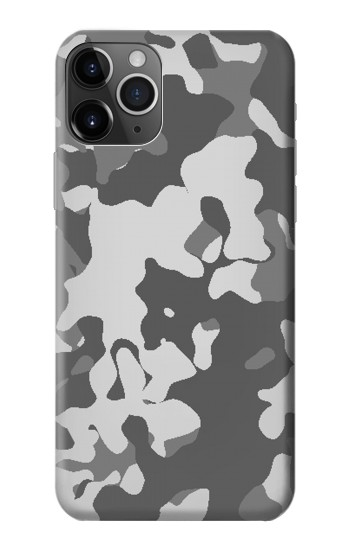 Printed Gray Camo Camouflage Graphic Printed iPhone 11 Pro Case