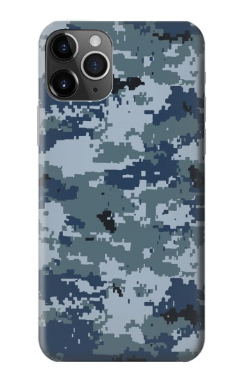 Printed Navy Camo Camouflage Graphic iPhone 11 Pro Case