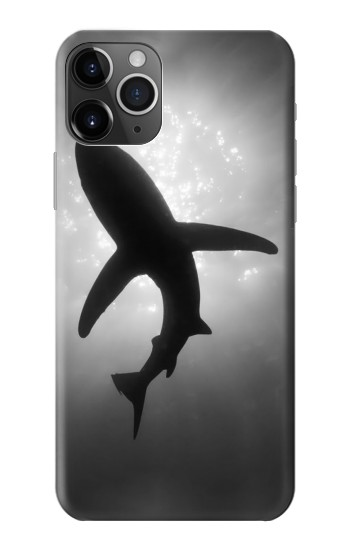 Printed Shark Monochrome iPhone 11 Pro Case