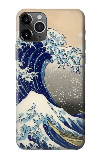 Printed Katsushika Hokusai The Great Wave off Kanagawa iPhone 11 Pro Case