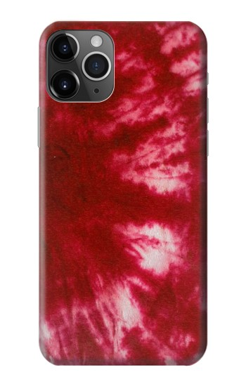 Printed Tie Dye Red iPhone 11 Pro Case