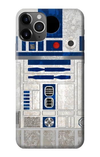 Printed Vintage R2D2 Minimalist iPhone 11 Pro Case