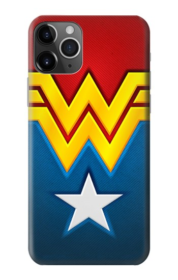 Printed Wonder Women Logo iPhone 11 Pro Case
