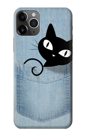 Printed Pocket Cat iPhone 11 Pro Case