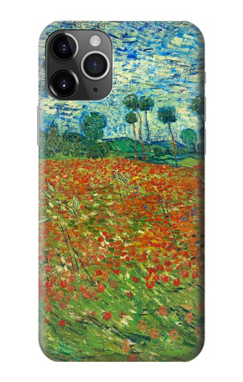 Printed Field Of Poppies Vincent Van Gogh iPhone 11 Pro Case