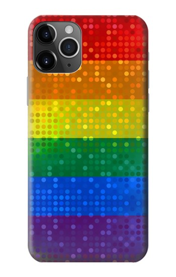 Printed Rainbow Gay LGBT Pride Flag iPhone 11 Pro Case