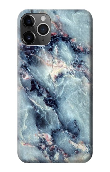 Printed Blue Marble Texture iPhone 11 Pro Case