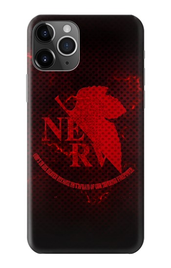 Printed Nerv Logo Evangelion iPhone 11 Pro Case