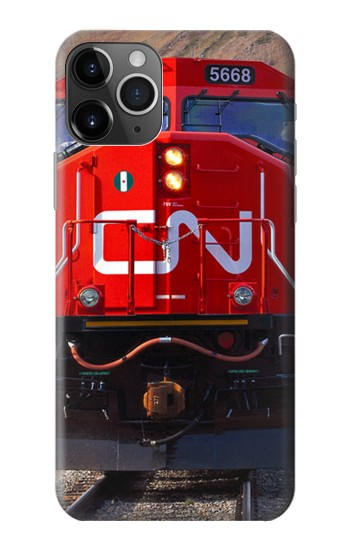 Printed Train Canadian National Railway iPhone 11 Pro Case