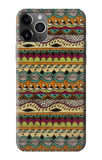 Printed Aztec Boho Hippie Pattern iPhone 11 Pro Case