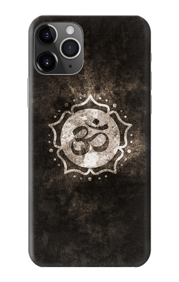 Printed Yoga Namaste Om Symbol iPhone 11 Pro Case