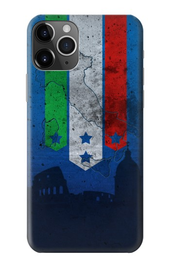 Printed Italy Football Flag iPhone 11 Pro Case