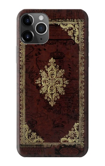 Printed Vintage Map Book Cover iPhone 11 Pro Case