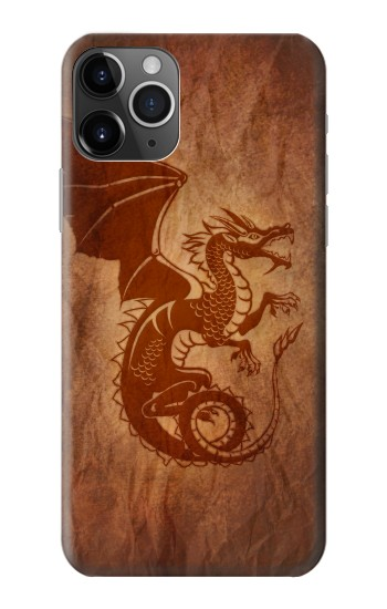 Printed Red Dragon Tattoo iPhone 11 Pro Case