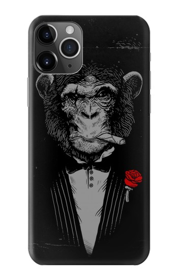 Printed Funny Monkey God Father iPhone 11 Pro Case