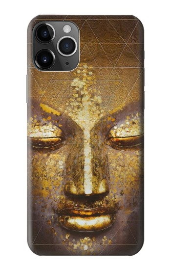 Printed Magical Yantra Buddha Face iPhone 11 Pro Case