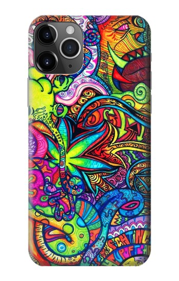 Printed Colorful Art Pattern iPhone 11 Pro Case