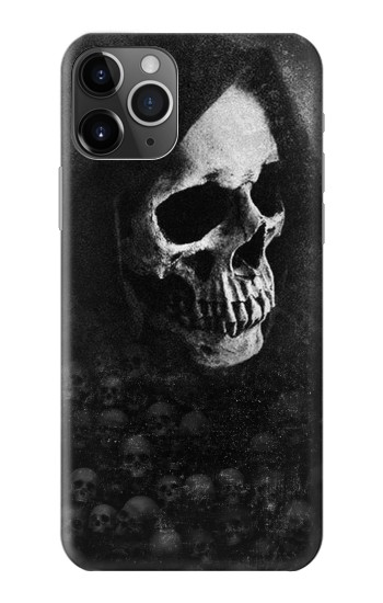 Printed Death Skull iPhone 11 Pro Case