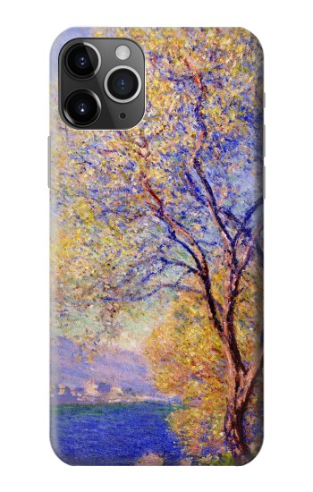 Printed Claude Monet Antibes Seen from the Salis Gardens iPhone 11 Pro Case
