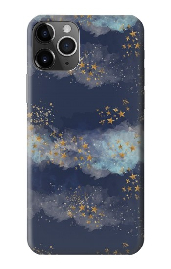Printed Gold Star Sky iPhone 11 Pro Case