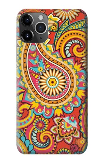 Printed Floral Paisley Pattern Seamless iPhone 11 Pro Case