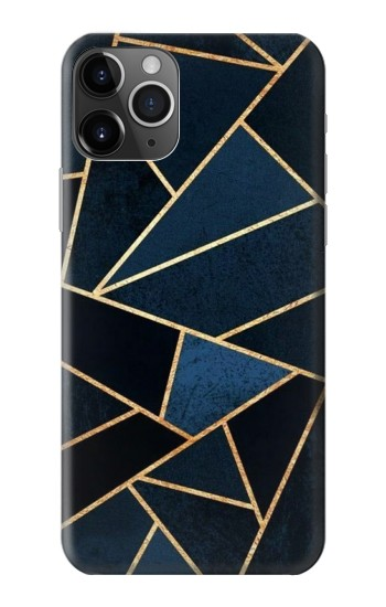 Printed Navy Blue Graphic Art iPhone 11 Pro Case