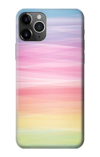 Printed Colorful Rainbow Pastel iPhone 11 Pro Case