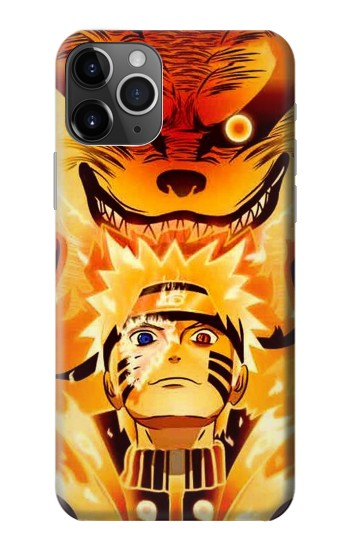 Printed Naruto Kurama Nine Tailed Fox iPhone 11 Pro Case